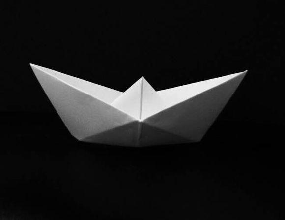 手工制作大全折叠纸船